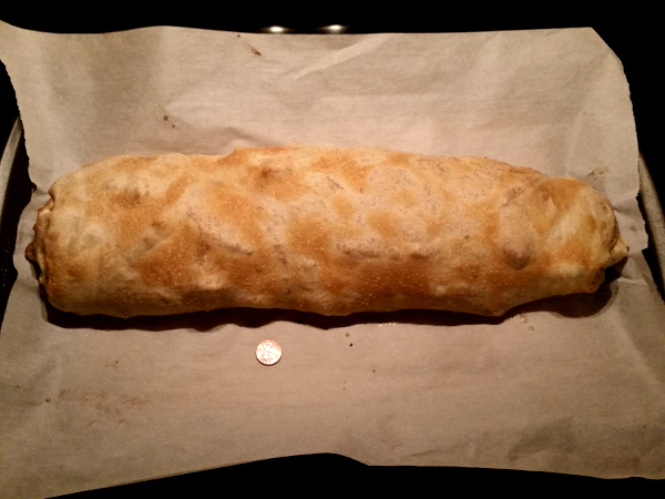 A traditional apple strudel made by user janelle using a lilvienna recipe