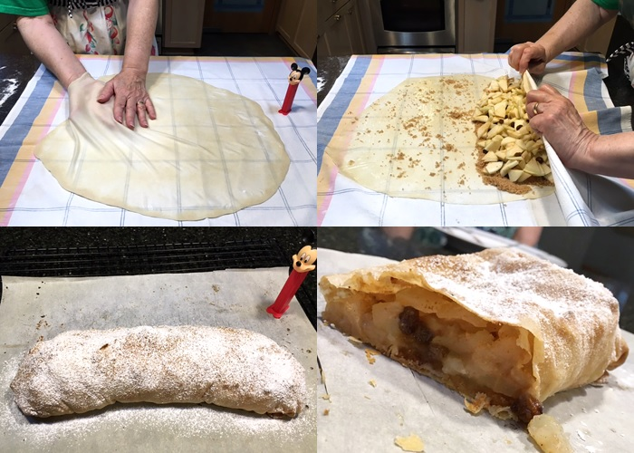 Apple strudel by user
