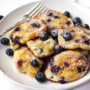 Blueberry Nocken (Heidelbeernocken)