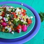 Chickpea Salad (Salatit Hummus Maslouq)