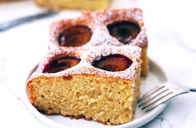 easy Italian plum cake recipe