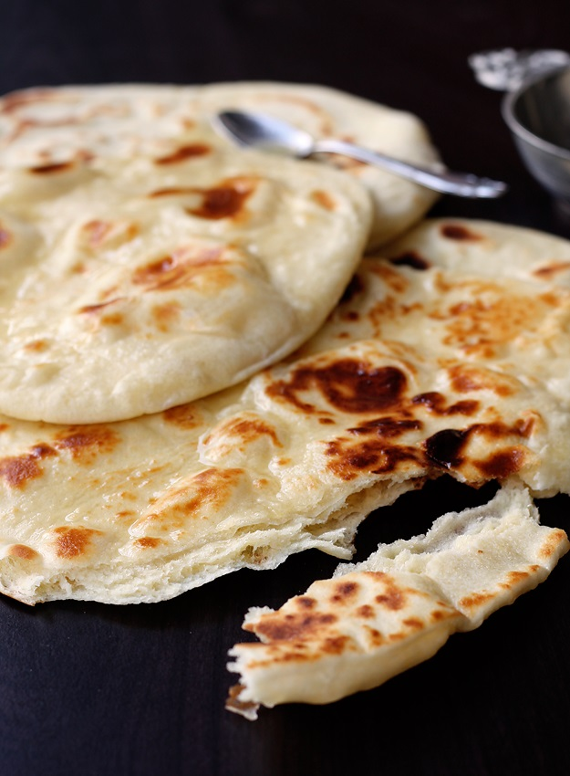 Easy No Yeast Naan 187 Little Vienna