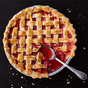 Lattice Strawberry Pie